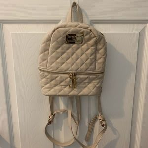 bebe Bags - Quilted Mini Backpack